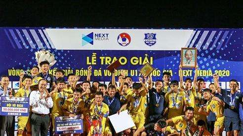 U17 Sông Lam Nghệ An đoạt ngôi vô địch