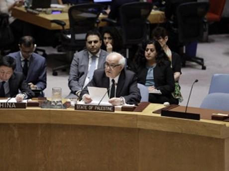 Chính quyền Palestine thúc đẩy hội nghị hòa bình quốc tế về Trung Đông