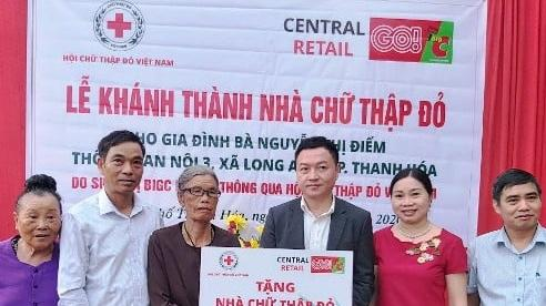 Thanh Hóa: Khánh thành, bàn giao nhà 'Chữ thập đỏ' cho hộ có hoàn cảnh khó khăn
