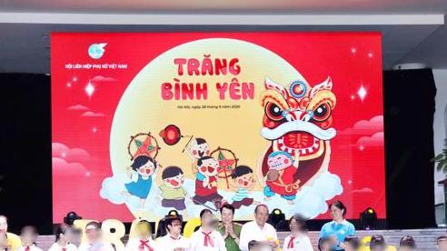 'Trăng bình yên' cho trẻ em có hoàn cảnh đặc biệt