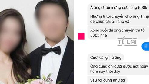 Pha mừng cưới 'thối tiền' có 1-0-2 và lời cảnh báo hôn nhân địa ngục khiến chàng rể mới 'khóc thét'