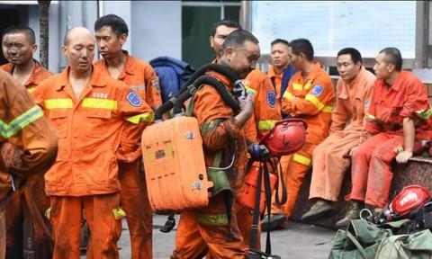 Kẹt trong mỏ than ở Trung Quốc, ít nhất 16 người tử vong