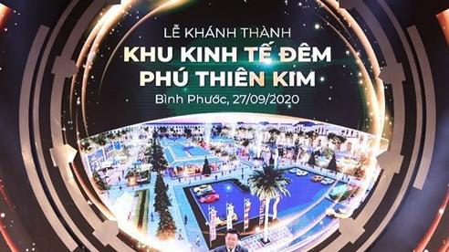 Khánh thành khu kinh tế đêm tại thành phố Đồng Xoài