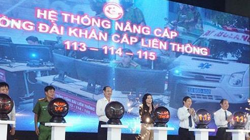Thành phố Hồ Chí Minh tích hợp các số khẩn cấp 113, 114 và 115 vào một tổng đài