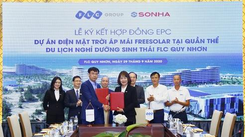 Sơn Hà và FLC 'bắt tay' lắp đặt hệ thống điện mặt trời áp mái FreeSolar