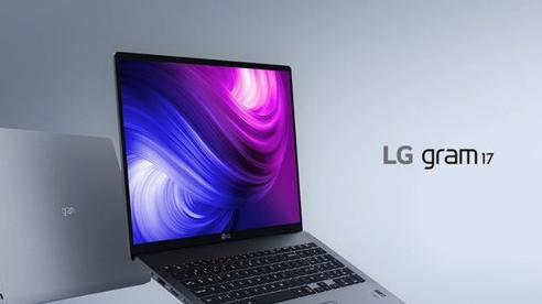 LG Gram 17 inch: Nhìn vậy mà không phải vậy