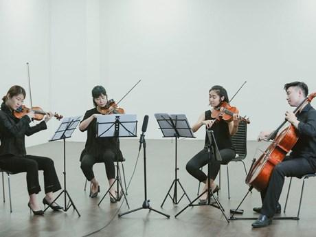 Tứ tấu dây sẽ trình diễn hòa nhạc miễn phí tại Trung tâm Văn hóa Nhật