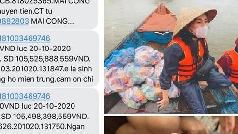 Ca sĩ Thủy Tiên lo lắng khi 'ôm' hơn 100 tỷ cứu trợ miền Trung: Đừng chửi mình tội nghiệp