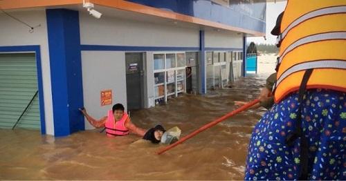 Quảng Bình: Phát hiện thi thể người đàn ông khi nước lũ rút dần