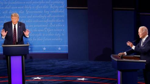 Ông Trump phản đối quy định 'tắt mic' trong phiên tranh luận cuối với ông Biden