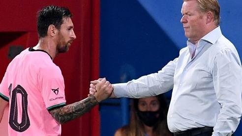 HLV Koeman tuyên bố đáng lo về Messi