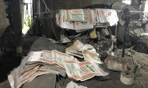 Đồng Nai: Bắt vụ sản xuất phân bón giả bằng đất và bột đá quy mô lớn