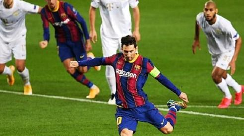 Messi lập kỷ lục khó tin ở Champions League