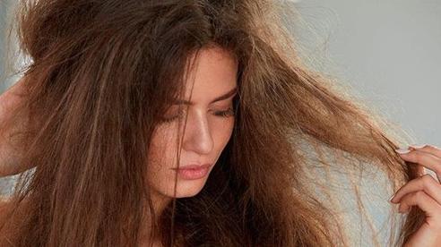 5 lưu ý khi chăm sóc mái tóc bị khô xơ