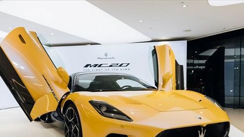 Maserati MC20 2021 giá cao ngất ngưởng nhưng vẫn cháy hàng