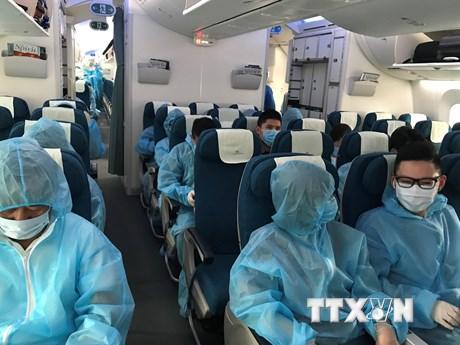 Dịch COVID-19: Đưa gần 450 công dân Việt Nam từ Hàn Quốc về nước