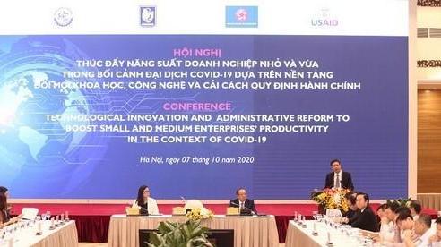 Đề xuất 6 giải pháp ứng dụng KH&CN, đổi mới sáng tạo cho doanh nghiệp nhỏ và vừa