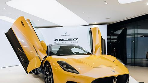 Siêu xe Maserati MC20 2021 vẫn 'cháy hàng' dù giá cao 'ngất ngưởng' lên đến hơn 7 tỷ đồng