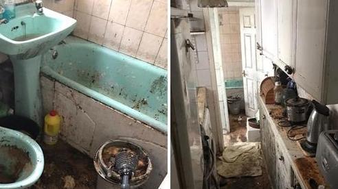 Ngôi nhà bẩn đến mức 6 nhân viên vệ sinh phải mất 50 giờ đồng hồ để dọn dẹp