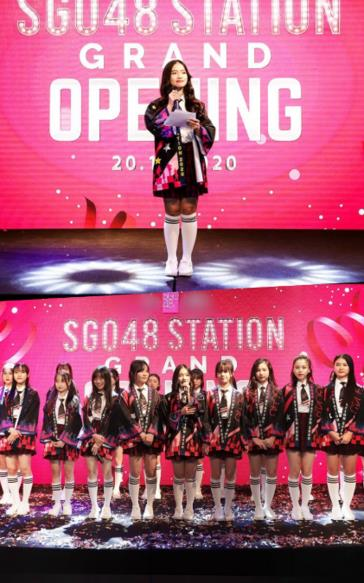 SGO48 'chơi lớn' khi trở thành nhóm nhạc đầu tiên có sân khấu riêng tại Việt Nam