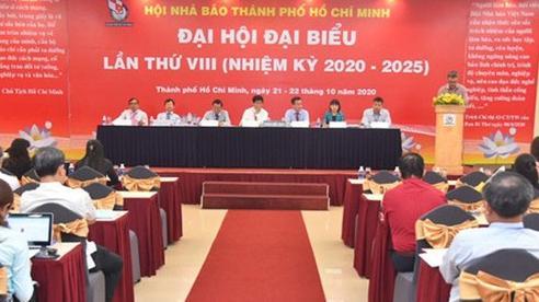 Đại hội lần thứ VIII Hội Nhà báo TP.HCM họp phiên trù bị