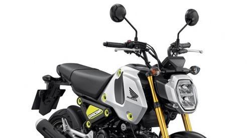 Xe côn tay Honda Grom 2021 ra mắt tại thị trường Thái Lan