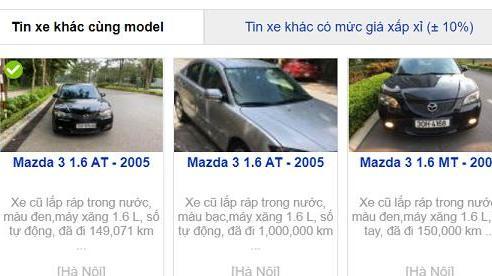 Sốc: Mazda 3 cũ 'phá giá' chỉ ngang bằng 2 chiếc Honda SH
