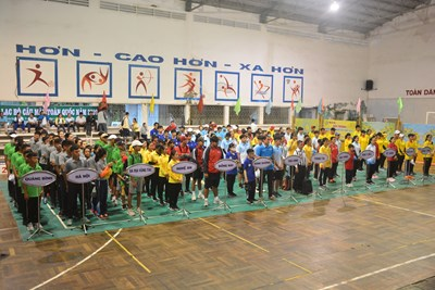 Đồng Tháp nhất toàn đoàn Giải bi sắt vô địch trẻ và thiếu niên quốc gia 2020