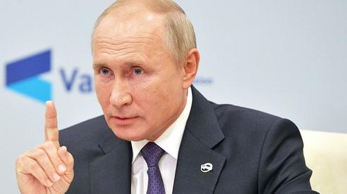 TT Putin 'nhắn nhủ' những người mong Nga tàn lụi