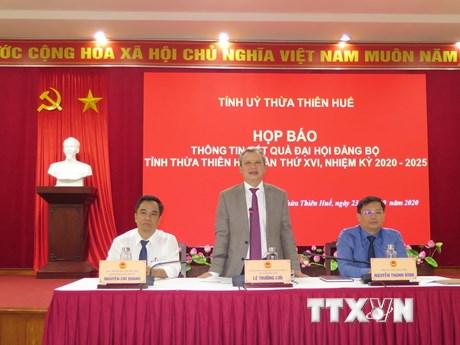 'Sớm đưa Thừa Thiên-Huế trở thành thành phố trực thuộc Trung ương'