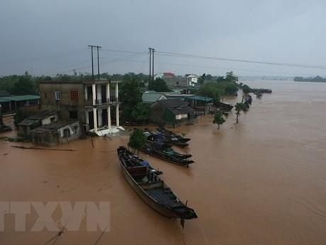 Chính phủ Indonesia thăm hỏi về tình hình lũ lụt ở miền Trung Việt Nam