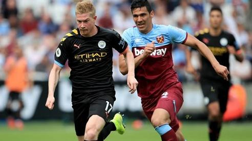 West Ham 1-1 Man City: Foden gỡ hòa (H2)