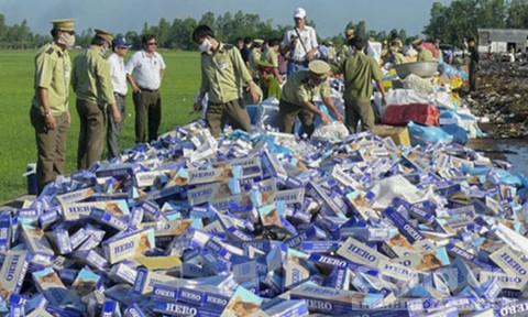 Tăng cường chống buôn lậu thuốc lá