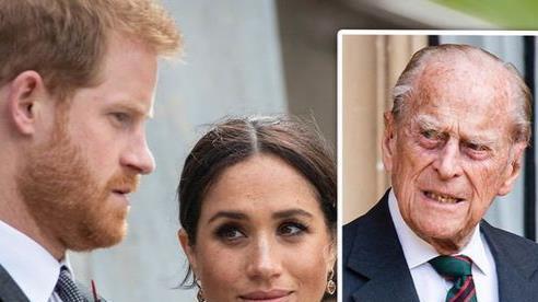 Hoàng thân Philip 'hoàn toàn thất vọng' khi Harry và Meghan 'trở mặt' với gia đình