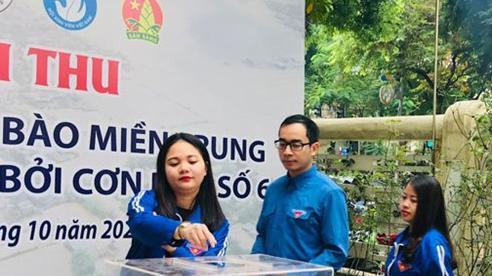 Tuổi trẻ Thủ đô quyên góp gần 3,6 tỷ đồng ủng hộ đồng bào miền Trung