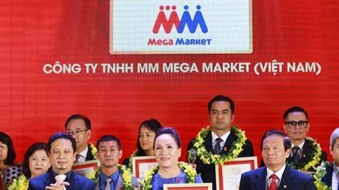 MM Mega Market giữ vị trí thứ 3 công ty bán lẻ uy tín