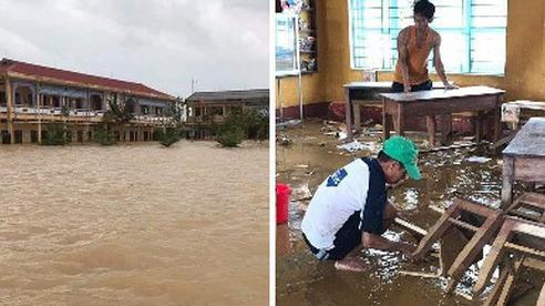 Đăng Khôi hỗ trợ tiền, xây dựng hệ thống nước sạch cho 4 điểm trường chịu ảnh hưởng nặng nề bởi bão lũ ở Huế