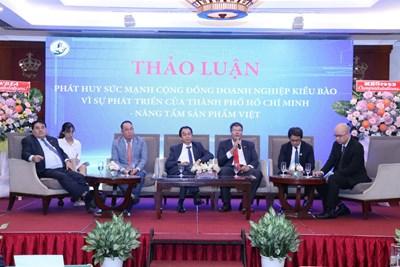 Doanh nghiệp kiều bào chung tay phát triển TP Hồ Chí Minh