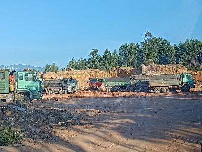 Vĩnh Phúc: Xe tải trọng lớn tung hoành trên các tuyến đường