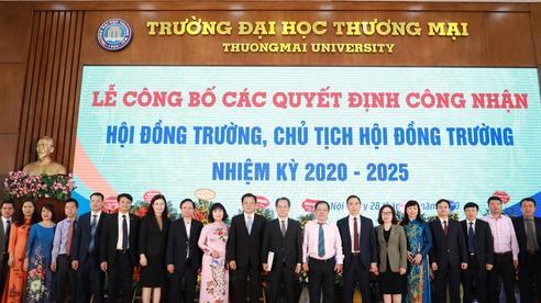 PGS.TS. Bùi Hữu Đức giữ chức vụ Chủ tịch Hội đồng Trường Đại học Thương mại