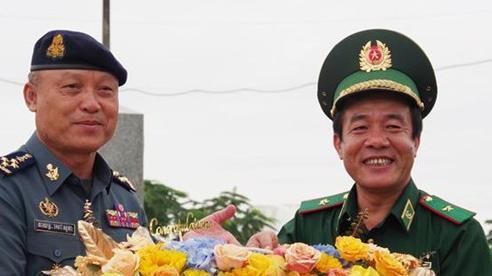 Tăng cường hợp tác quốc phòng giữa Bộ Tư lệnh BĐBP Việt Namvà Bộ Tư lệnh Hiến binh Campuchia