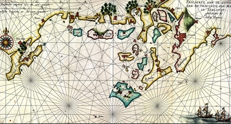 Tấm bản đồ giúp đánh sập liên minh hải tặc vùng Ireland