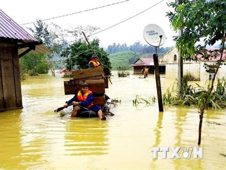Quảng Bình: Xử phạt 4 trường hợp đăng thông tin sai sự thật về lũ lụt