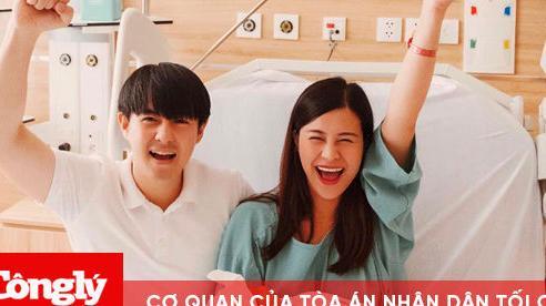 Đông Nhi – Ông Cao Thắng khoe khoảnh khắc hạnh phúc đón con gái đầu lòng