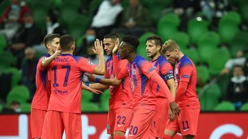 Hàng công bùng nổ, Chelsea đại thắng trên đất Nga