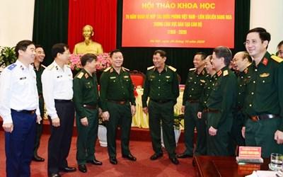 Hội thảo khoa học về lĩnh vực đào tạo cán bộ Việt Nam – Liên Xô/ Liên bang Nga