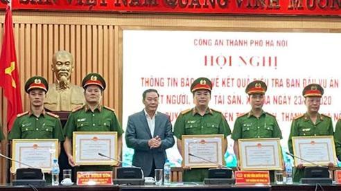 Khen thưởng các tập thể, cá nhân khám phá nhanh vụ trọng án tại huyện Thường Tín