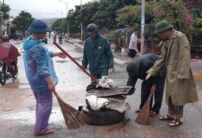Chủ động phòng, chống dịch bệnh sau lũ lụt