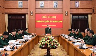 Thường vụ Quân ủy Trung ương đánh giá kết quả thực hiện nhiệm vụ quân sự, quốc phòng tháng 10, triển khai nhiệm vụ tháng 11