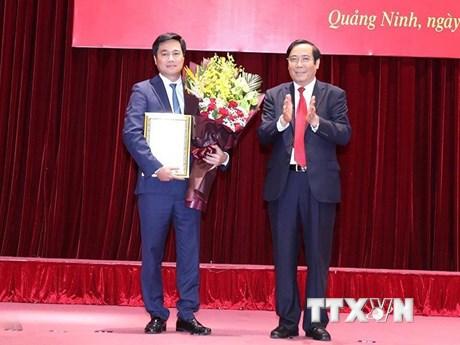 Ông Nguyễn Tường Văn giữ chức Phó Bí thư Tỉnh ủy Quảng Ninh